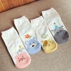 Knit a Bit - Kids Animal-Pattern Socks