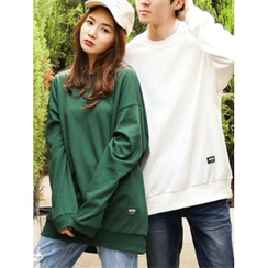 LOLOten - Couple Round-Neck Oversized Sweatshirt