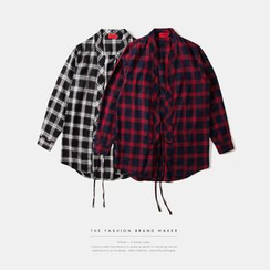 Newin - 和式格紋襯衫