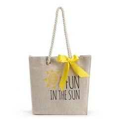Aoba - Lettering Shopper Bag