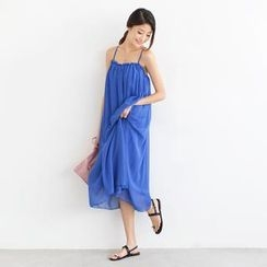 SO Central - Chiffon Maxi Sundress (Belt not Included)