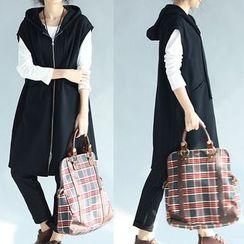 Taragon - Long Hooded Vest