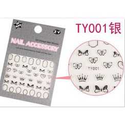 Benlyz - 3D Nail Sticker (TY-1S)