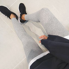 11.STREET - Plain Leggings