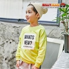 BILLY JEAN - Kids Drop-Shoulder Lettering Top