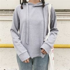 HL哈喽妹妹 - 纯色连帽衫