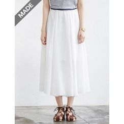 FROMBEGINNING - A-Line Long Skirt