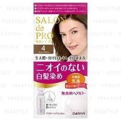 DARIYA 黛莉亚 - Salon de Pro Hair Color Fast Dyeing Emulsion (#4 Light Brown)