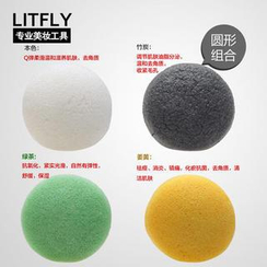 Litfly丽塔芙 - 魔芋4件套 (圆形4件套装)