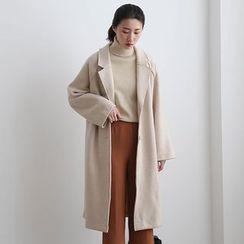 ELLY - Loose Fit Woolen Coat