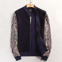EDAO - Zip Knit Jacket