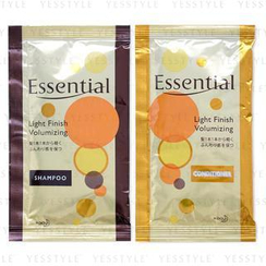 Kao 花王 - Essential Light Finish Volumizing Shampoo 15ml + Conditioner 15ml