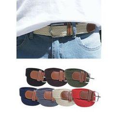 JOGUNSHOP - Colored Mesh Belt