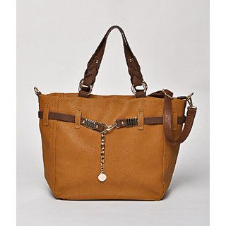 59 Seconds - Contrast Strap Tote