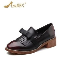 Amenx - Fringed Loafers