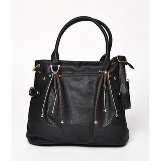 59 Seconds - Contrast Stitching Tote