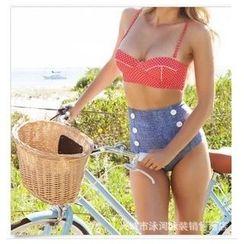 Rivergirl - Polka Dot High-Waist Bikini