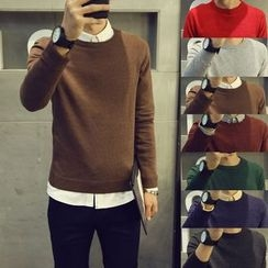 Bay Go Mall - Plain Knit Top
