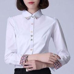 Caroe - Studded Collar Shirt