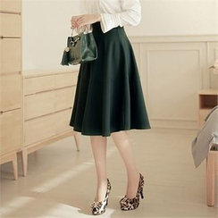CHICLINE - A-Line Skirt