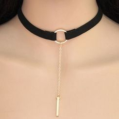 Bling Thing - Bar Drop Choker