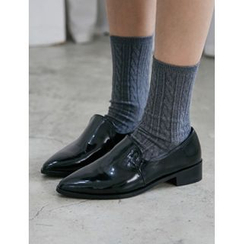 FROMBEGINNING - Pointy-Toe Loafers
