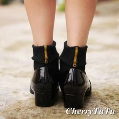 CherryTuTu - Embroidered Socks