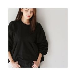 MASoeur - Oversized Shirred T-Shirt