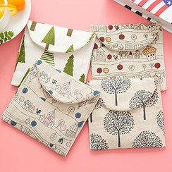 MissYou - Printed Linen Cotton Pouch