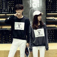 We Belong - Couple Matching Applique Sweatshirt