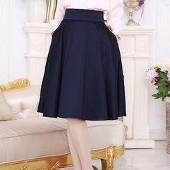 Romantica - A-Line Midi Skirt