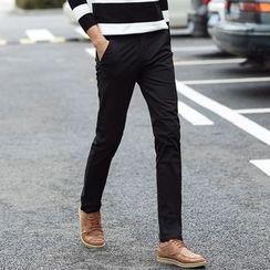藍派 - 直筒褲