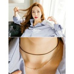 soo n soo - Double-Layered Star Choker