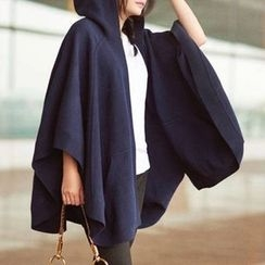 BOHIN - Hooded Cape Jacket
