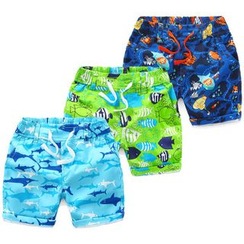 Seashells Kids - Kids Beach Shorts