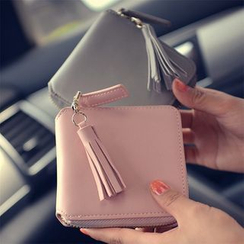 Nautilus Bags - Zip Around Wallet with Tassel