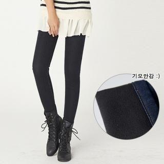 ANNINA - Fleece-Lined Skinny Jeans