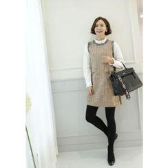 Lemite - Tweed Wool Blend Shift Dress