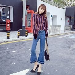 RUI - Slit Boot-cut Jeans