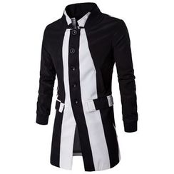 Fireon - Color Block Trench Jacket