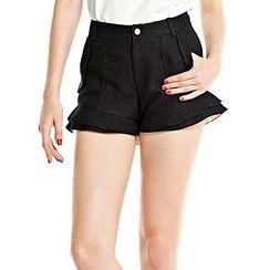 O.SA - Ruffled Shorts