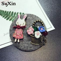 PERILLA - Rabbit Brooch