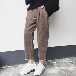 Bloombloom - Corduroy Harem Pants
