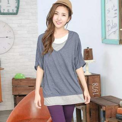 YoungBaby - Inset-Top T-Shirt