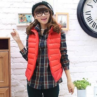 Mooiee - Hooded Padded Vest