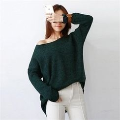 PIPPIN - Round-Neck Loose-Fit Knit Top