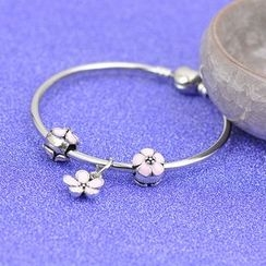 PEIDUOLA - Flower Charm Bangle