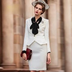 Aision - Set: Jacket + Pencil Skirt