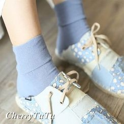CherryTuTu - Plain Socks