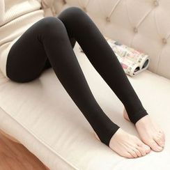 camikiss - Fleece Lined Leggings / Tights